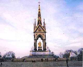 Picture of Queen Victoria's Memorial to Albert.