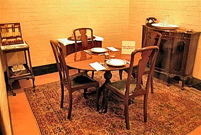 Churchill War Rooms London formally Cabinet War Rooms London