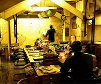 Picture of the map room in the Cabinet War Rooms