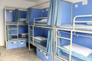 Picture of Bed in 6-Bed Female Dormitory Room with Private Bathroom